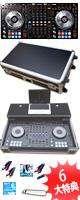 Pioneer(パイオニア) / DDJ-SZ フライトケースモバイルオススメAセット  【Serto DJ 無償】【VirtualDJ 8 Pro無償】 ■限定セット内容■→ 【・フライトケース ・OAタップ ・セッティングマニュアル ・教則DVD ・ミックスCD作成KIT ・金メッキ高級接続ケーブル 3M 1ペア ・PcDJ教則(D-Yama from Mogra)】