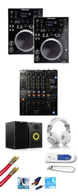 CDJ-350 / DJM-900NXS2 激安定番Bセット 16大特典セット