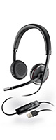 PLANTRONICS(プラントロニクス) / Blackwire C520 - USB対応 ステレオヘッドセット - 1大特典セット