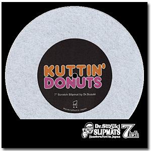 Dr. Suzuki / Kuttin' Donuts [7inch Slipmat] - 1枚1セット -