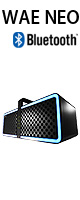 Hercules(ハーキューリース) / WAE NEO -Bluetooth対応LED付きスピーカー  ■限定セット内容■→ 【・OAタップ ・最上級エージング・ツール 】