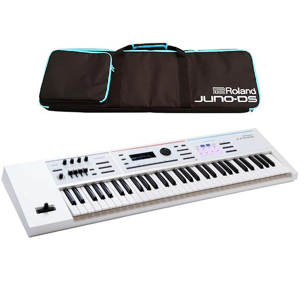 【10円パワーアップセット】Roland(ローランド) / JUNO-DS61W (ホワイト) - 61鍵 シンセサイザー