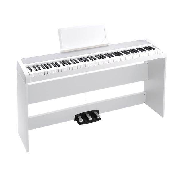 Korg(コルグ) / デジタルピアノ B1SP-WH - デジタルピアノ -【スタンド、3本ペダル・ユニット付属】