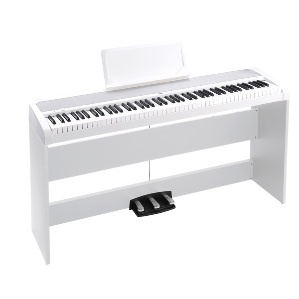 Korg(コルグ) / B1SP-WH - デジタルピアノ -【スタンド、3本ペダル・ユニット付属】 3大特典セット