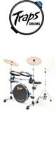 Traps Drums(トラップス ドラムス) / A400NC - コンパクトなドラムセット - ※シンバル類は付属していません 1大特典セット