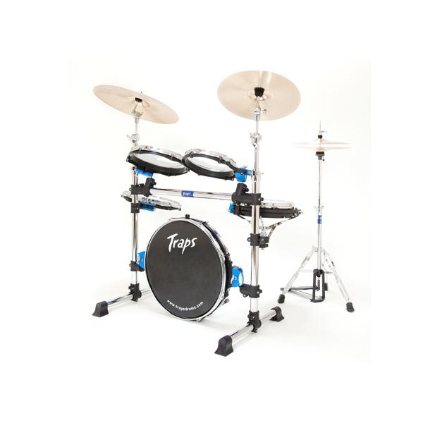 ■ご予約受付■ Traps Drums(トラップス ドラムス) / A400NC - コンパクトなドラムセット - ※シンバル類は付属していません 【次回3月中旬以降予定】 1大特典セット