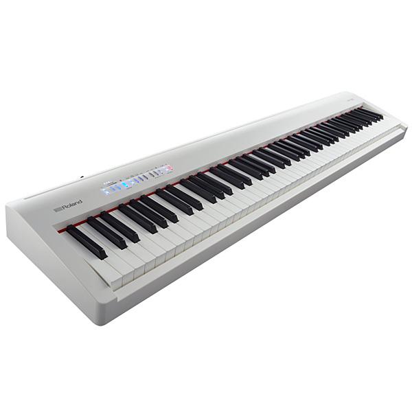 Roland(ローランド) / FP-30-WH - Bluetooth対応 ポータブル・電子ピアノ - 【88鍵盤】