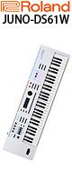 【限定1台】Roland(ローランド) / JUNO-DS61W (ホワイト) 61鍵 シンセサイザー 1大特典セット