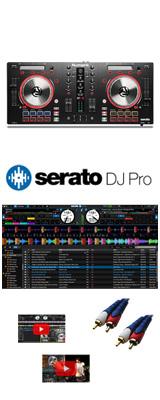Numark(ヌマーク) / MixTrack Pro 3 / Serato DJ Pro セット 4大特典セット