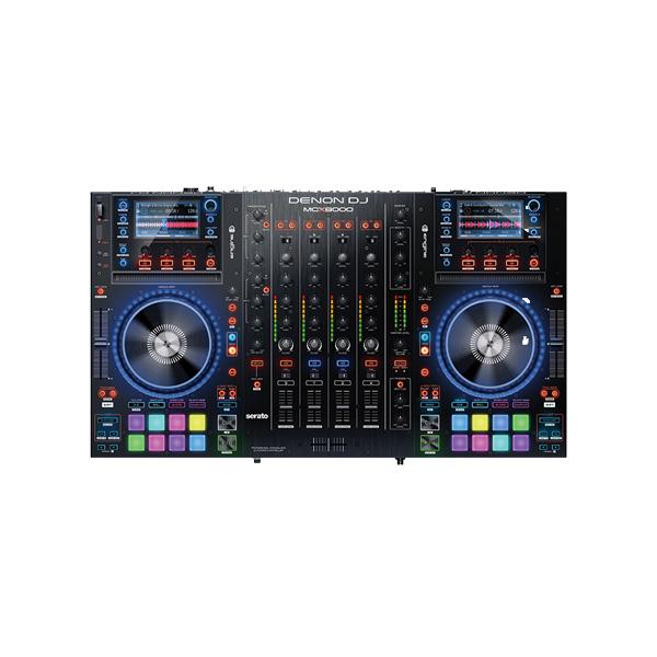 【10倍ポイント】Denon(デノン) / MCX8000 - PCDJコントローラー- 【Serato DJ付属】