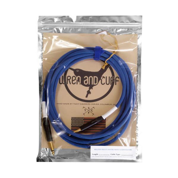 Wren and Cuff Creations(レナンドカフクリエーション) / Belden Blue Cable 5.4m S/Sプラグ  - ケーブル -