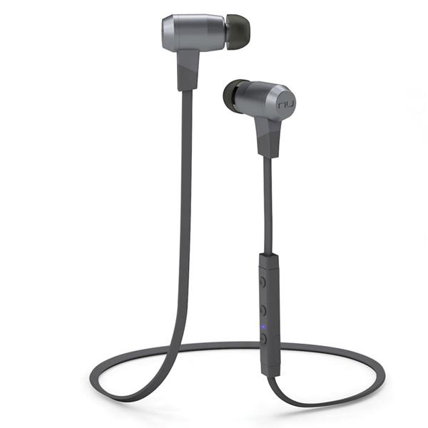 NuForce(ニューフォース) / BE6i (GREY) - Bluetooth対応ワイヤレスイヤホン