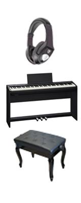 【専用スタンド&ペダルボード】+猫足ベンチ Roland(ローランド) / FP-30-BK - 電子ピアノ デジタルピアノ - 1大特典セット