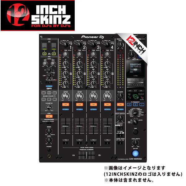 ■ご予約受付■ 12inch SKINZ / Pioneer DJM-900NXS2 SKINZ (BLACK)  【DJM-900NXS2用スキン】