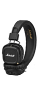 Marshall(マーシャル) / MAJOR II BLUETOOTH (BLACK) - Bluetooth対応ワイヤレスヘッドホン - 1大特典セット