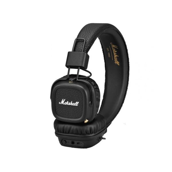 Marshall(マーシャル) / MAJOR II BLUETOOTH (BLACK) - Bluetooth対応ワイヤレスヘッドホン -