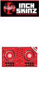 12inch SKINZ / Pioneer DDJ-SB2 SKINZ (Red) 【DDJ-SB2用スキン】
