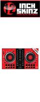 12inch SKINZ / Pioneer DDJ-SB2 SKINZ (Red/Black) 【DDJ-SB2用スキン】