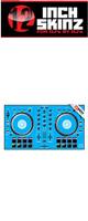 12inch SKINZ / Pioneer DDJ-SB2 SKINZ (Lite Blue) 【DDJ-SB2用スキン】