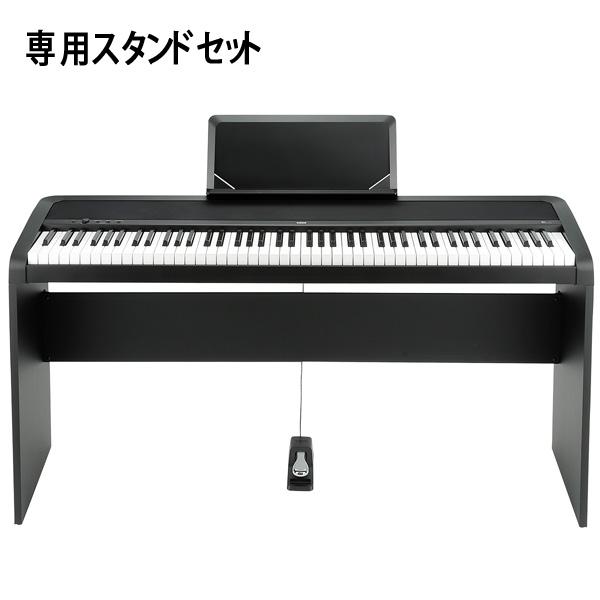 Korg(コルグ) / B1(ブラック) 【デジタルピアノ専用スタンド(STB1-BK)セット】