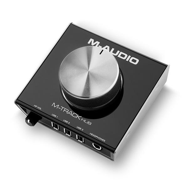 【限定1台】M-Audio(エム・オーディオ) / M-TRACK HUB  MA-REC-009  - オーディオ・インターフェース -  【メーカー再生品/開封済み】 『セール』『USB DAC』
