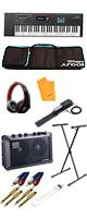 【電池駆動MOBILE CUBEセット】 Roland(ローランド) /  JUNO-DS61 - シンセサイザー - 10大特典セット