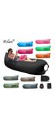 Polan (ポラン) / nflatable Sleeping Bag,Portable Beach Lazy Bag,Air Sleep Sofa Lounge,Sleeping air bed,Hangout Camping Bed,Sofa,Couch (black) 《エアーソファー》 - アウトドアグッズ -