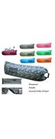 Polan (ポラン) / nflatable Sleeping Bag,Portable Beach Lazy Bag,Air Sleep Sofa Lounge,Sleeping air bed,Hangout Camping Bed,Sofa,Couch ( navy green ) 《エアーソファー》 - アウトドアグッズ -