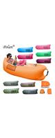 Polan (ポラン) / nflatable Sleeping Bag,Portable Beach Lazy Bag,Air Sleep Sofa Lounge,Sleeping air bed,Hangout Camping Bed,Sofa,Couch ( orange ) 《エアーソファー》 - アウトドアグッズ -