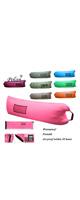 Polan (ポラン) / nflatable Sleeping Bag,Portable Beach Lazy Bag,Air Sleep Sofa Lounge,Sleeping air bed,Hangout Camping Bed,Sofa,Couch ( pink ) 《エアーソファー》 - アウトドアグッズ -