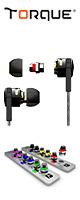 TORQUE(トルク) / t096z - 6種類のノズルを交換して音をカスタマイズできるイヤホン - 1大特典セット