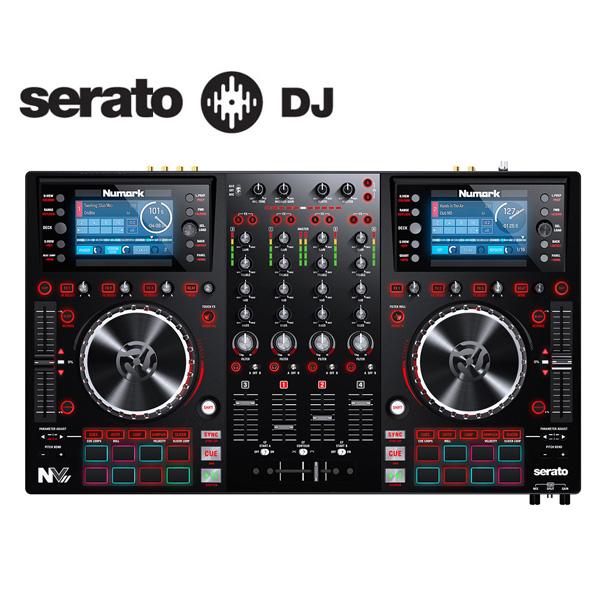 Numark(ヌマーク) / NV II 【Serato DJ無償】 - 4チャンネルPCDJコントローラー