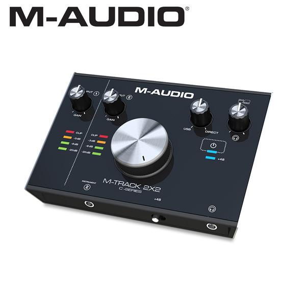 M-Audio(エム・オーディオ) / M-TRACK 2x2 - オーディオ・インターフェース -