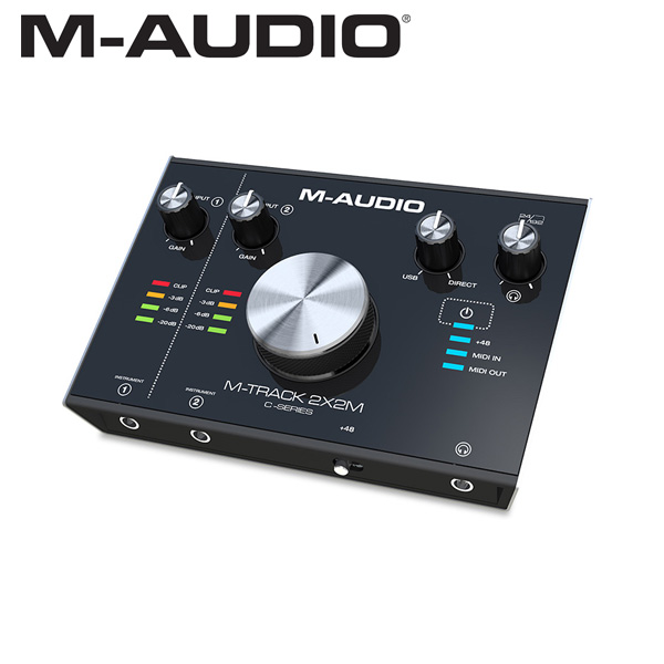 M-Audio(エム・オーディオ) / M-TRACK 2x2M - オーディオ・インターフェース -【納期未定】