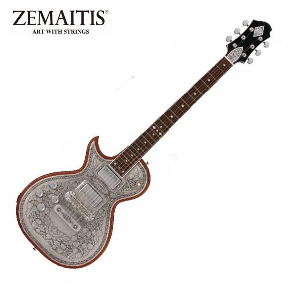 Zemaitis(ゼマティス) / A24MF LH (Natural) - エレキギター - ■限定セット内容■→ 【・アーニーボール エレキ弦】