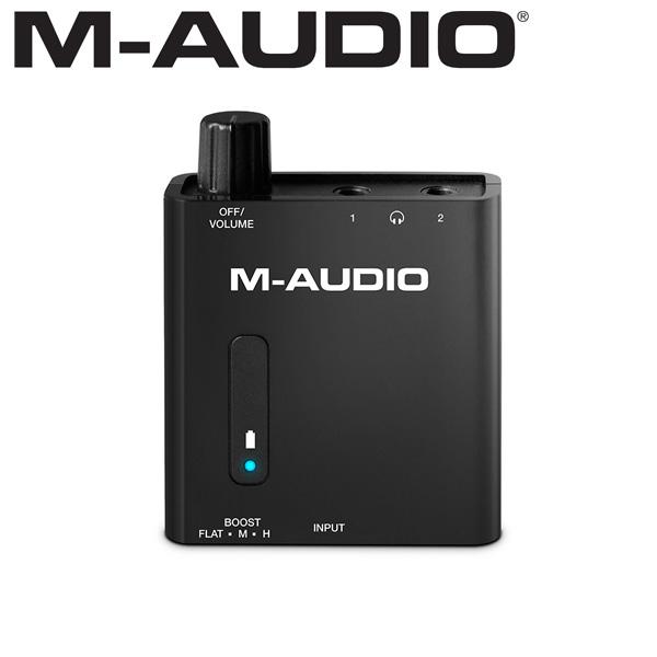 M-Audio(エム・オーディオ) / Bass Traveler -  充電式ポータブル・ヘッドホンアンプ -