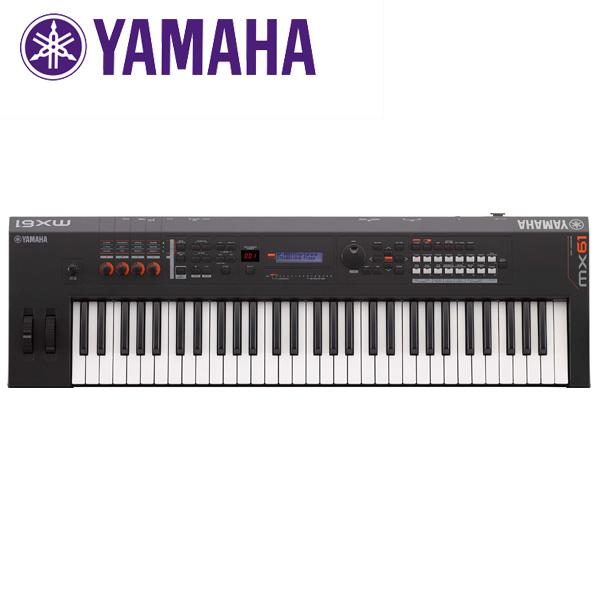 YAMAHA(ヤマハ) / MX61 BK - ミュージックシンセサイザ - 【次回納期未定】