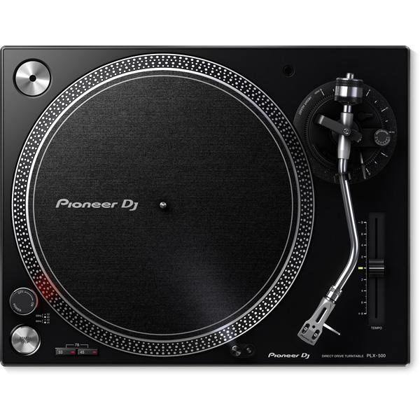 【レコードクリーナープレゼントキャンペーン】 Pioneer(パイオニア) / PLX-500-K - ダイレクトターンテーブル - 3大特典セット