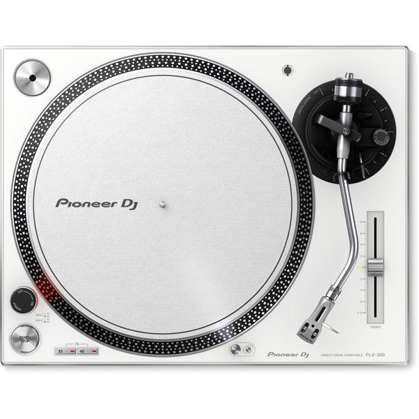 【レコードクリーナープレゼントキャンペーン】 Pioneer(パイオニア) / PLX-500-W - ダイレクトターンテーブル - 3大特典セット