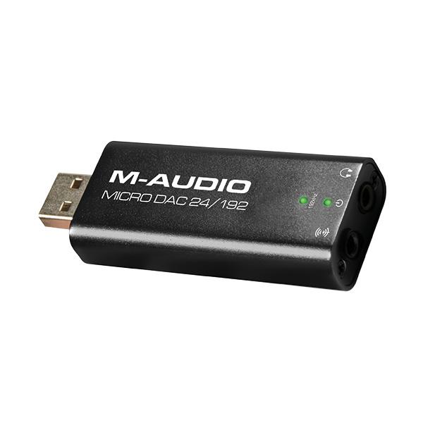 ■ご予約受付■ M-Audio(エム・オーディオ) / Micro DAC 24/192 - 24bit/192kHzハイレゾ対応 USB DAC -【納期未定】 1大特典セット