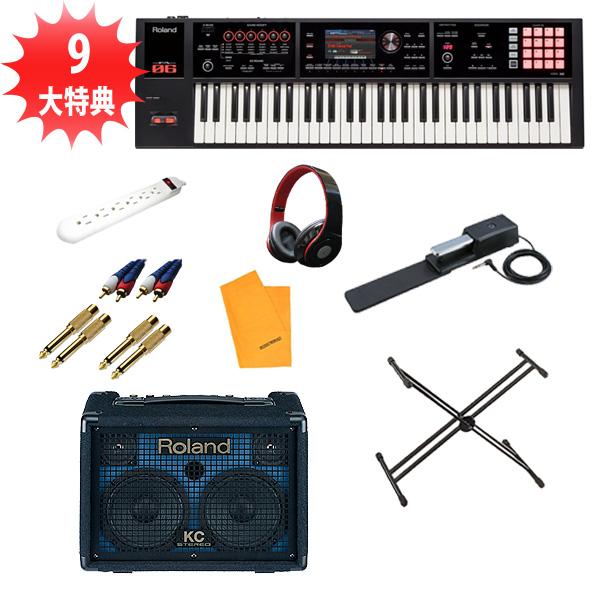【電池駆動KC-110セット】 Roland(ローランド) /  FA-06  - 61鍵盤ワークステーション・シンセサイザー