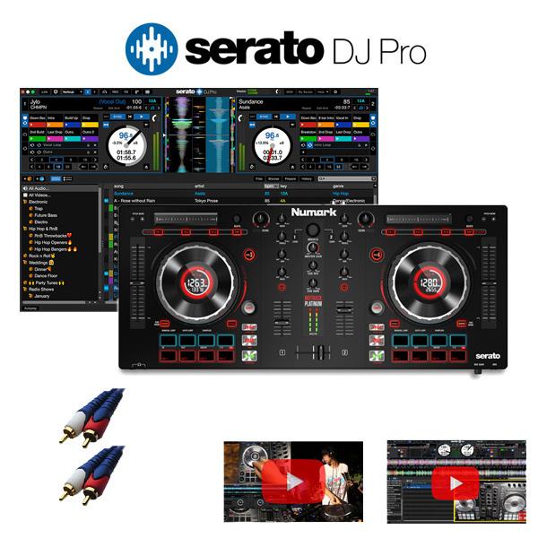 Numark(ヌマーク) / MixTrack Platinum / Serato DJ セット