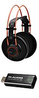 【ハイレゾ再生セット】AKG(アーカーゲー) / K712 PRO - オープンエア ダイナミック型 ヘッドホン - ■限定セット内容■→ 【・最上級エージング・ツール ・ハイレゾ対応USB DAC (Micro DAC 24/192) 】