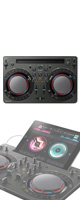 Pioneer(パイオニア) / DDJ-WeGO4-K (ブラック) 【rekordbox dj】iPad 「WeDJ」対応 5大特典セット