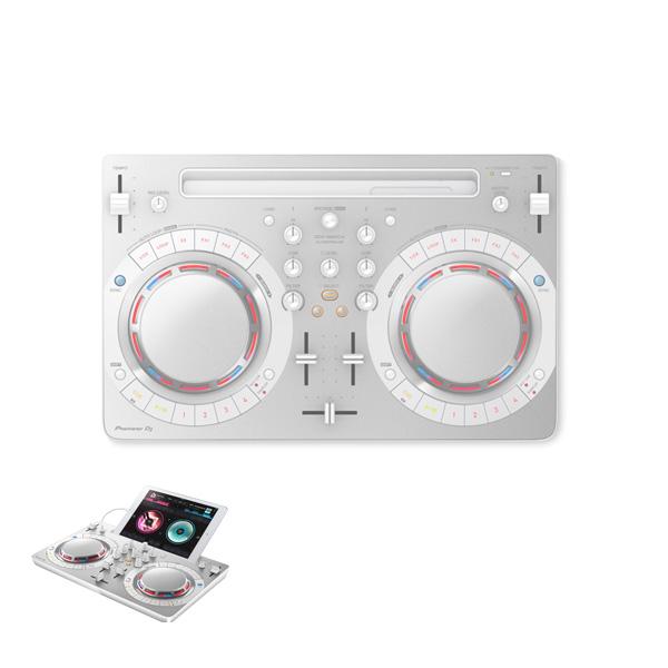 Pioneer(パイオニア) / DDJ-WeGO4-W (ホワイト) 【rekordbox dj】iPad 「WeDJ」対応