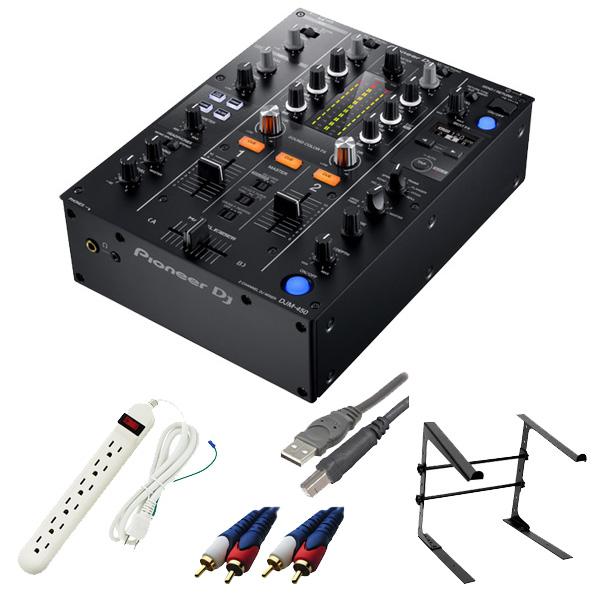 Pioneer(パイオニア) / DJM-450 - DVS機能・エフェクト搭載 DJミキサー- 4大特典セット
