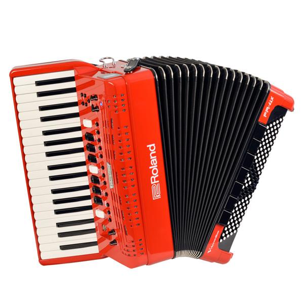 Roland(ローランド) / FR-4X (RED) Vアコーディオン(ピアノ鍵盤タイプ) - デジタルアコーディオン -