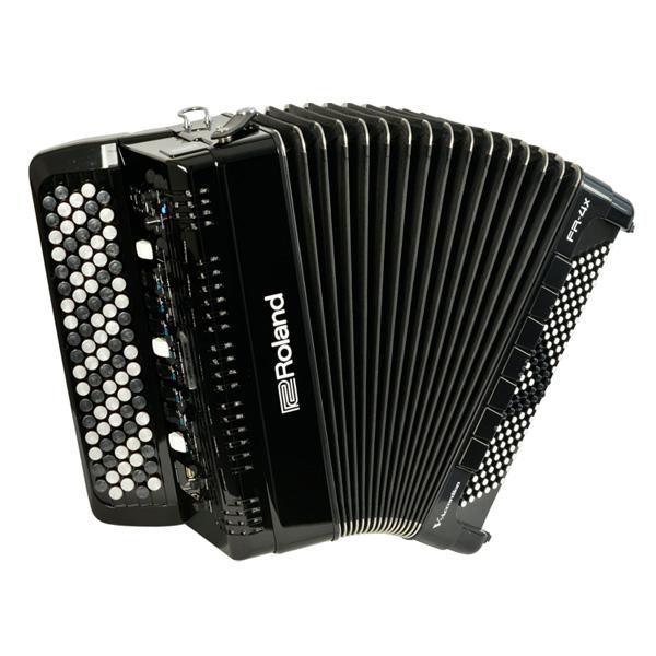 Roland(ローランド) / FR-4XB (BLACK) Vアコーディオン(ボタン鍵盤タイプ) - デジタルアコーディオン -