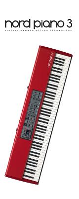 Clavia(クラヴィア) / Nord Piano 3 - 88鍵 ステージピアノ - 1大特典セット