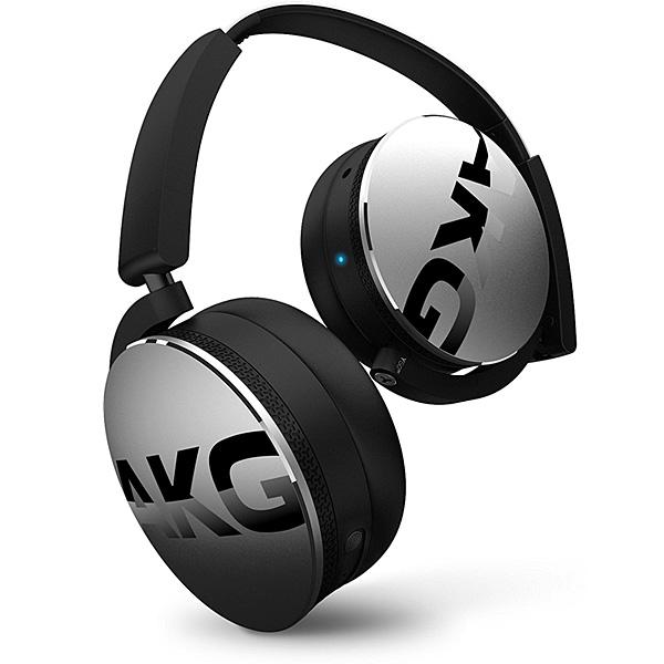 【限定1台】AKG(アーカーゲー) / Y50BT (Silver) - Bluetooth対応 ワイヤレスヘッドホン -【アウトレット/外箱ダメージ有】『セール』『ヘッドホン』